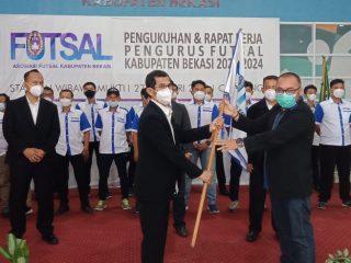 Cari Bibit Atlit Futsal, Amal Kamaludin Bentuk Koordinator Wilayah
