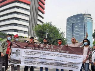 FPBAK Kembali Datangi KPK, Desak Kasus Perpanjangan Jabatan Dirut PDAM TB Dan Dugaan Money Loundry Segara Di Usut Tuntas